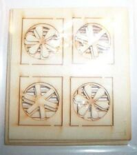 Bar Mills #04034 Window Fan Assemblies (8 PC) O Scale NEW 4034