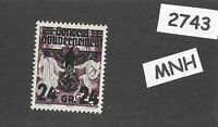 MNH stamp 24Gr 1940 Overprint Third Reich Germany General Government Poland WWII