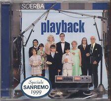 SOERBA - Playback - SANREMO 1999 13 TRACKS CD SIGILLATO SEALED