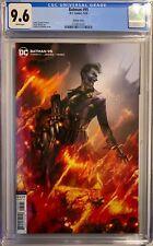 BATMAN #95 (2020) CGC 9.6 NM+ FRANCESCO MATTINA VARIANT COVER JOKER WAR DC COMIC