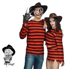 Freddy Krueger Mens Womens Halloween Nightmare Elm Street Fancy Dress Costume