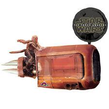 "Star Wars The Force Awakens Reys Speeder 35"" Foil Balloon Birthday Party Favors"