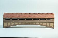 Grande Coperta Ponte in legno-Richard ZEUMER 1930-per Heyde stagno personaggi appelli