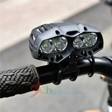 4 x CREE T6 LED 4 Mode Cycling Bike Front Light Head Light Lamp Torch Flashlight