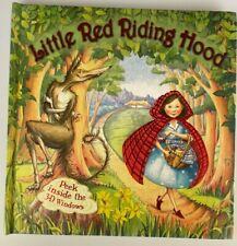 Little Red Riding Hood Hardback Pop-Up Book – Peek inside the 3D Windows VGC
