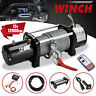 12000lbs 12V Electric Recovery Winch Truck SUV Wireless Remote Control