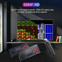 Retro TV Game Stick Mini HDMI 4K Console 628 Built-in Games 2×Wireless Gamepad *