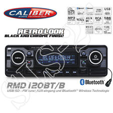 Caliber RMD120BT Bluetooth Autoradio USB SD Retro Design Radio Oldtimer BLACK