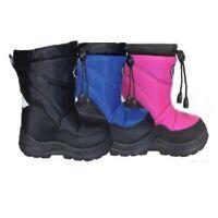 XTM Puddle Kids Winter Warm Apres Snow Boots Childrens Euro Size 21-30