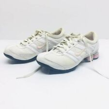 Nike Shoes Pink White Tennis Shoes Sneakers Women's 8