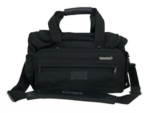 Travelpro Platinum II Black Under-Seat Duffel Bag Carry On Small Travel Luggage