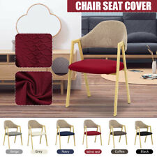 Stretch Elastic Chair Seat Cover Slipcover Removable Home Dining Wedding