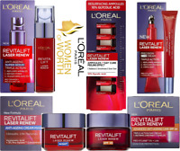 L'Oreal Paris Revitalift Laser Renew DAY-NIGHT-EYE CREAM-SUPER SERUM-AMPOULES
