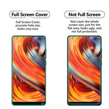 2x FULL SCREEN Face Curved TPU Screen Protector Cover For Xiaomi Mi Mix 2s