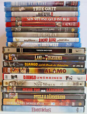 Blu-ray + DVD Sammlung Western 19 Filme - The Revenant - Hateful 8 siehe Bilder