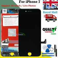For Apple iPhone 7 7G LCD Black Touch Screen Digitizer Display & Frame Assembly