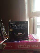 digital professional 0.43x super wide angle lens 72mm