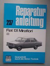 Reparaturanleitung 237 Fiat 131 Mirafiori 1300 / 1600