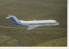 Postcard 1405 - Aircraft/Aviation Fokker F-28 Fellowship NLM Cityhopper