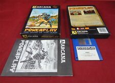 Amiga:  Powerplay: The game of the gods  - Arcana Software 1987