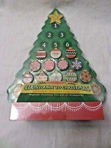 New Sealed Melissa & Doug Countdown to Christmas Wooden Advent Calendar AGES 3+