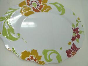 """18"""" LARGE Better Homes and Gardens Plastic Platter Dishwasher Safe"""