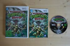 Wii - Teenage Mutant Ninja Turtles: Smash-Up - (OVP, mit Anleitung)