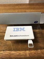 Vintage IBM 2 GB Memory Credit Card Collectible Souvenir Software / Eco / USB