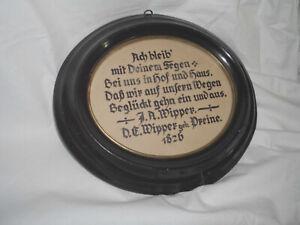 orig. ovaler Biedermeier Rahmen  ca. 32 x 28 cm