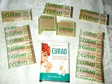 Vtg CURAD Tin Plastic Bandages A Curity Product Kendall Co Medical First Aid