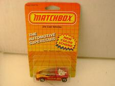 1987 & 1990 MATCHBOX SUPERFAST #49 MB49 PEUGEOT QUASAR NEW MOC