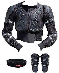 BONZ MX Full Body Armour Bmx Cycling atv Jacket BOYS CHILDREN Xxs
