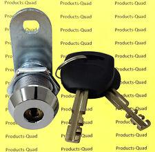 "Abloy style High Security 7/8"" Finland Tubular Cam Lock - Key Retaining"