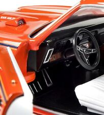 1969 Pontiac GTO  Carousel Red 1:18 Auto World 1058
