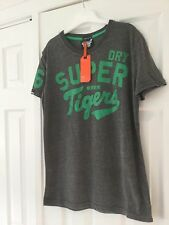 Superdry Grey  T Shirt size S NEW WITH TAGS