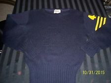 Vtg 40's class of 1941 Michigan Wolverines wool small sweater Rugby Mills WOW!