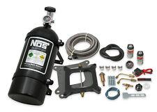 Nos 05001bnos Powershot Nitrous System Kit Holley 4150 Square Bore And Edelbrock