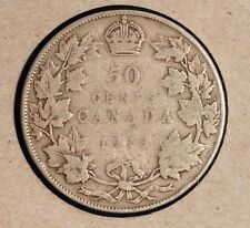 1918 Canada Fifty Cent - inv. X-178