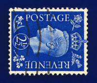 1940 SG466a 2½d Ultramarine (Wmk Side) Q13b Good Used Cat £35 cexy