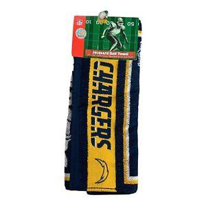 San Diego Chargers Golf Towel NFL Sports Logo Football Team Apparel
