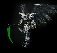 BUILT & PAINTED MG Gundam Deathscythe - Complete w/ real feather wings