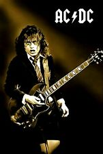 """AC/DC Poster Art """"Let There Be Rock"""" Large 20x30 Print Angus Young Free Shipping"""