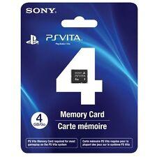 4GB PlayStation Ps Vita Memory Card Very Good 2Z