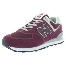 New Balance Mens 574 Core Red Running Shoes Sneakers 9.5 Medium (D) BHFO 8375