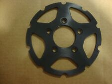 BIG DOG MOTORCYCLES BLACK ANNODIZED 2008 MUTT FRONT BRAKE ROTOR CARRIER CENTER