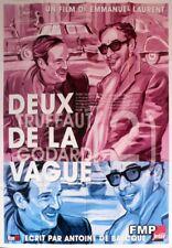 TWO IN THE WAVE / DEUX DE LA VAGUE - RARE TRUFFAUT / GODARD DOCUMENTARY POSTER
