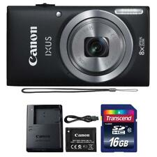 Canon IXUS 185 / ELPH 180 20MP Digital Camera Black and 16GB Memory Card