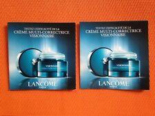 LOT ÉCHANTILLONS Lancôme Visionnaire Crème multi-correctrice