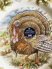 ROYAL STAFFORD Thanksgiving Turkey Dinner Plate 11' ENGLAND
