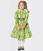 Child Girl Dress Lined Flared McCall's M6197 Pattern CDD 2-3-4-5 New UNCUT